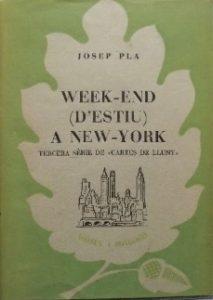 josep-pla_week-end-d'estiu-a-nova-york